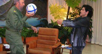 Maradona – Castro, hasta la muerte